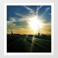 Sun Chaser Art Print