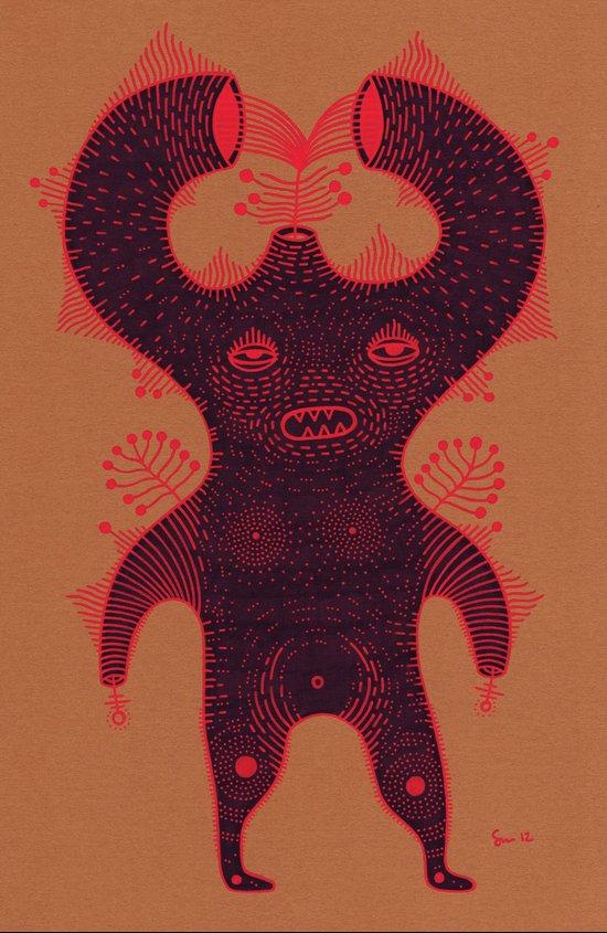 w o r m s Art Print