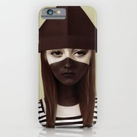 iPhone Cases featuring Ceci n'est pas un chapeau by Ruben Ireland
