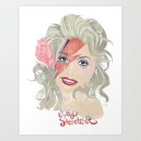 Dolly Stardust Art Print