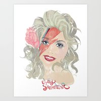 Dolly Stardust Art Print