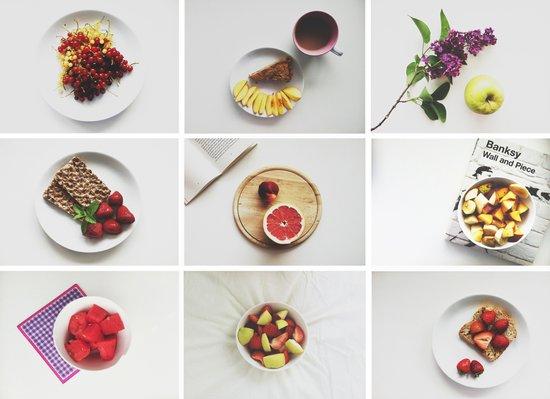 Morning stories - FRUIT set Art Print
