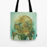 Moon Talking Nebula  Tote Bag