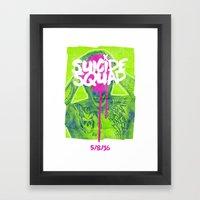 Suicide Squad Framed Art Print