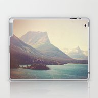 Laptop & iPad Skin featuring Retro Glacier by Kurt Rahn