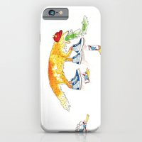 iPhone & iPod Case featuring Drunk Fox by Jesse Robinson Williams