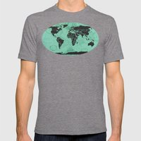 Paradigm Time Mens Fitted Tee Tri-Grey SMALL