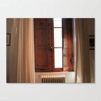 Italian Window Canvas Print
