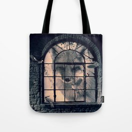 Tote Bag - FOX AND BIRDS - dada22