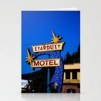 Stardust Motel Stationery Cards