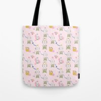 The Decorated Egg Tote Bag