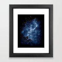 Cosmic Turtle Framed Art Print