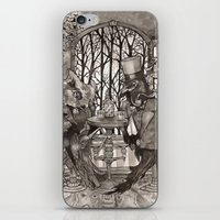 The Owl & The Raven iPhone & iPod Skin