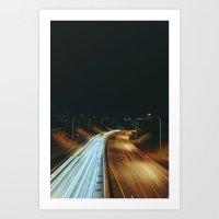 Nordel Way Vertical 2 Art Print