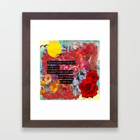 better me Framed Art Print