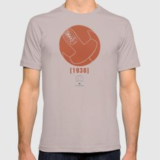 1930 Mens Fitted Tee Cinder SMALL