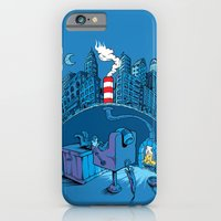 iPhone & iPod Case featuring The Cat in the Underground Flat by Peter Donahue
