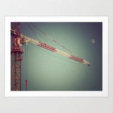 Crane Art Print