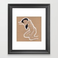 Nude Nº3 Framed Art Print