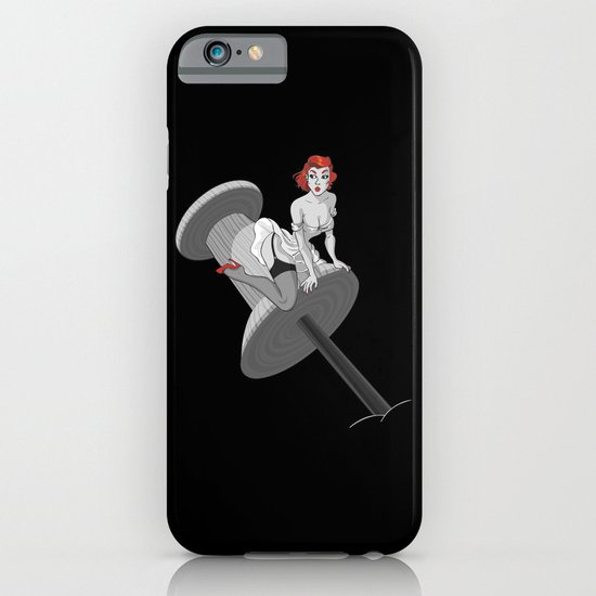 PIN UP RED iPhone & iPod Case