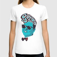 Gangnam Style Womens Fitted Tee White SMALL