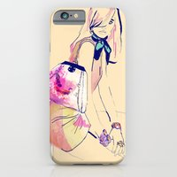 iPhone & iPod Case featuring Turning L.A. /// Natasha by Olive Primo Design + Illustration