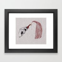 Knife Framed Art Print