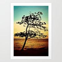 Paradise Tree Art Print