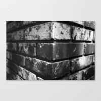 Brick House Canvas Print