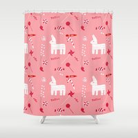 Piñata Party Shower Curtain