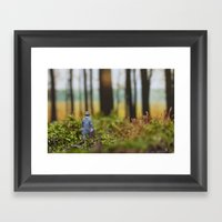 In Search Of Bigfoot (Od… Framed Art Print
