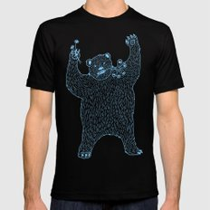 Little Bear SMALL Mens Fitted Tee Black