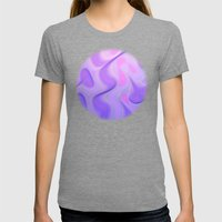 Getting a Groove On Womens Fitted Tee Tri-Grey SMALL