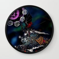 Doomtrain Diablos Wall Clock