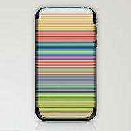 STRIPES17 iPhone & iPod Skin
