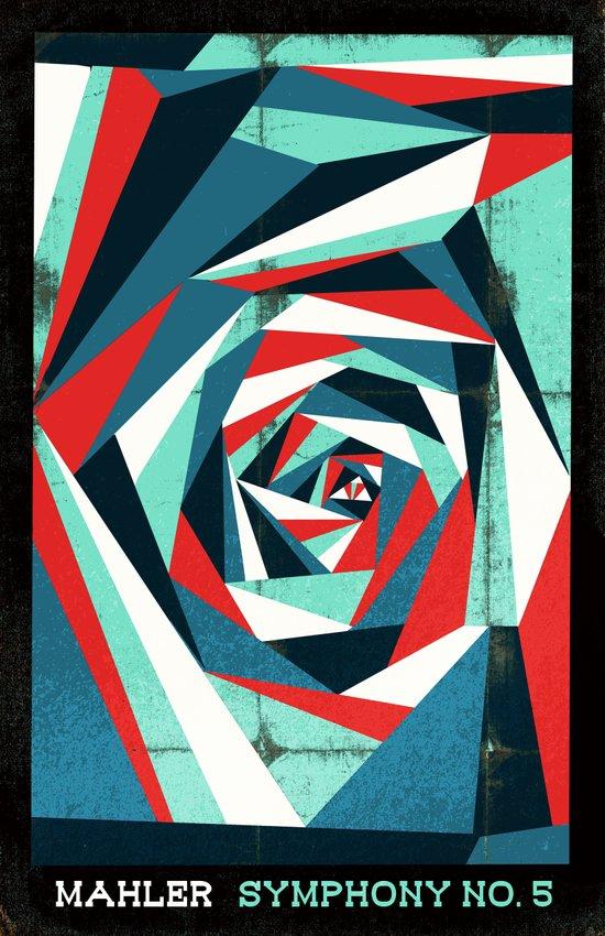 Mahler - Symphony No. 5 Canvas Print