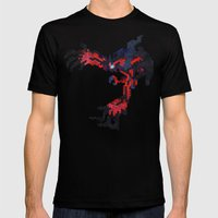 I Am Legendary Y- Geomet… Mens Fitted Tee Black SMALL