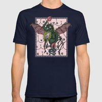 Barf Mens Fitted Tee Navy SMALL