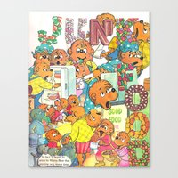 JUNK FOOD Canvas Print