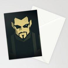 Jensen / Deus Ex: Human Revolution Stationery Cards