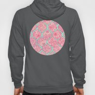 Moroccan Floral Lattice … Hoody