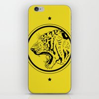Tiger In A Circle iPhone & iPod Skin