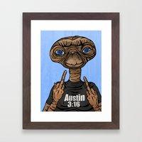 Stone Cold E.T.  Framed Art Print