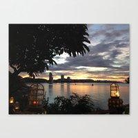 Huahin Thailand Canvas Print