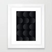 Punti Framed Art Print