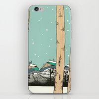 Behind The Forest iPhone & iPod Skin