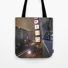 Up A Level Tote Bag