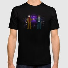 Ode to The Cosmos Mens Fitted Tee Black SMALL