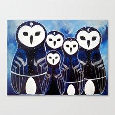 Matroshka Guardians Canvas Print