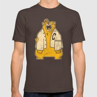 Berkeley Mens Fitted Tee Brown SMALL